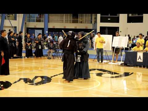 Kendo 2017 Nikkei Games Kachinuki Mixed Team Division: Semi Finals