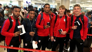 U-20 MNT Arrives in Costa Rica for 2017 CONCACAF Championship