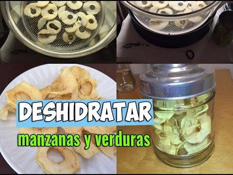 Deshidratar manzanas y verduras. EcoDaisy