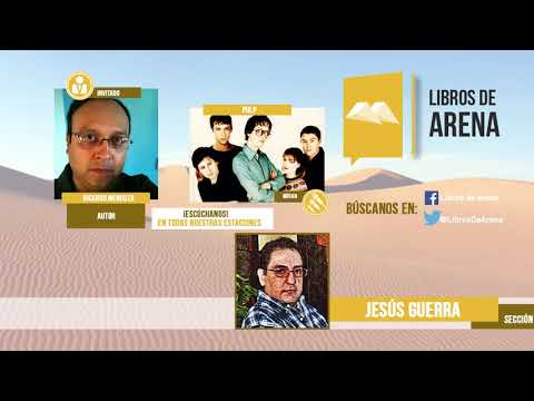 Libros de arena. Radio Cultural. MÉXICO. Ricardo Mendoza