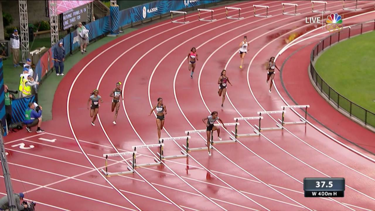 Olympic Track And Field Trials | Shamier Little Fails To ...