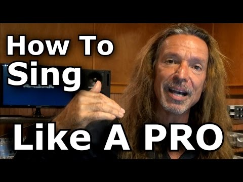 How To Sing Like A PRO – Open Throat Technique – Tutorial – Ken Tamplin Vocal Academy