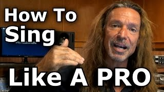 how to sing like a pro open throat technique tutorial ken tamplin vocal academy