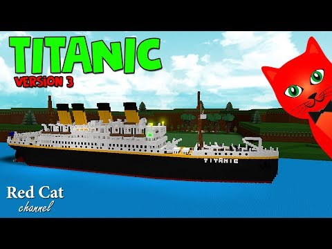 Titanic In Build A Boat Roblox   Титаник в лодках роблокс    Построили новую версию Титаника