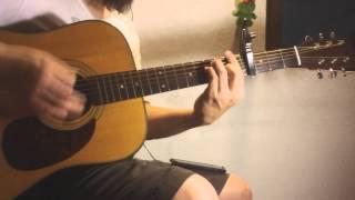 สอนกีต้าร์ ขอ LOMOSONIC เล่นตามเพลง แบบง่าย - น้าจร เชียงใหม่