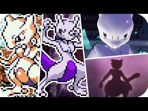 Evolution Of Pokémon Legendary Mewtwo Battles (1996 - 2018)