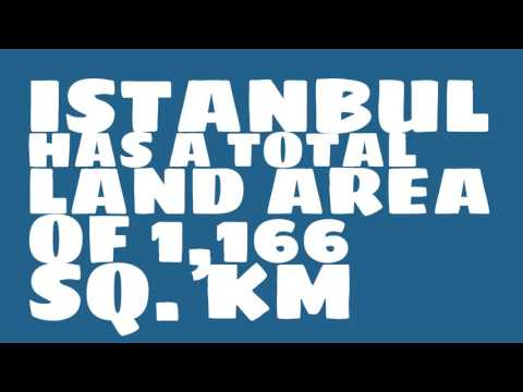 How does the population of Istanbul rank?