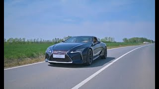 Lexus LC500 W/ ARMYTRIX Header-back Valvetronic Exhaust X GruppeM Carbon Intake X Vossen Wheels