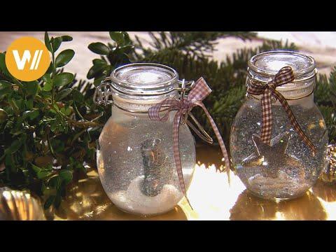 weihnachtsdeko basteln geschenkanh nger snow globe doovi. Black Bedroom Furniture Sets. Home Design Ideas