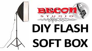 DIY SOFTBOX - FÁCIL