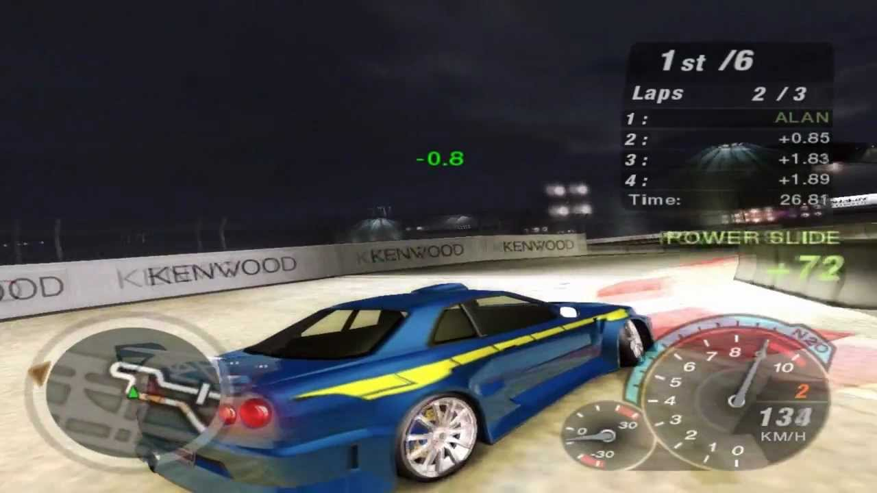 Need For Speed Underground 2 Race 209 Url Stage 5 Youtube