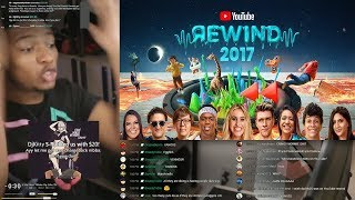 Etika Reacts To Youtube Rewind 2017 (Etika Stream Highlight)