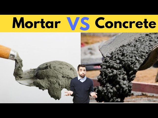 7 Differences Between Mortar and Concrete Everyone Should Know