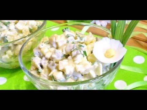 Салат из соленых огурцов и яйца к вареной картошке рецепт от шеф-повара / Илья Лазерсон