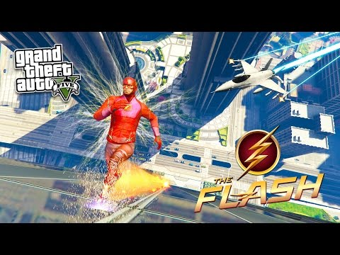 GTA 5 PC Mods - THE FLASH MOD w/ SUPER SPEED #2! GTA 5 The Flash Mod Gameplay! (GTA 5 Mods Gameplay)