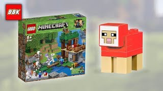 LEGO Minecraft The Skeleton Attack 21146 Speed Build and Review with Chase