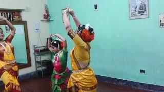 Madhu Madhuri Chadalo Akash Dance by Tapan Majumder