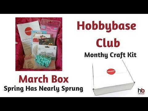 Hobbybase Club | March Craft Kit