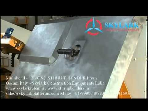 Stirrup Bending Machine Multibend By Skylark Construction Equipments, Delhi