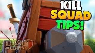 START your Attack RIGHT! Kill Squad Tips for both Traditional and Queen Charge in Clash of Clans!