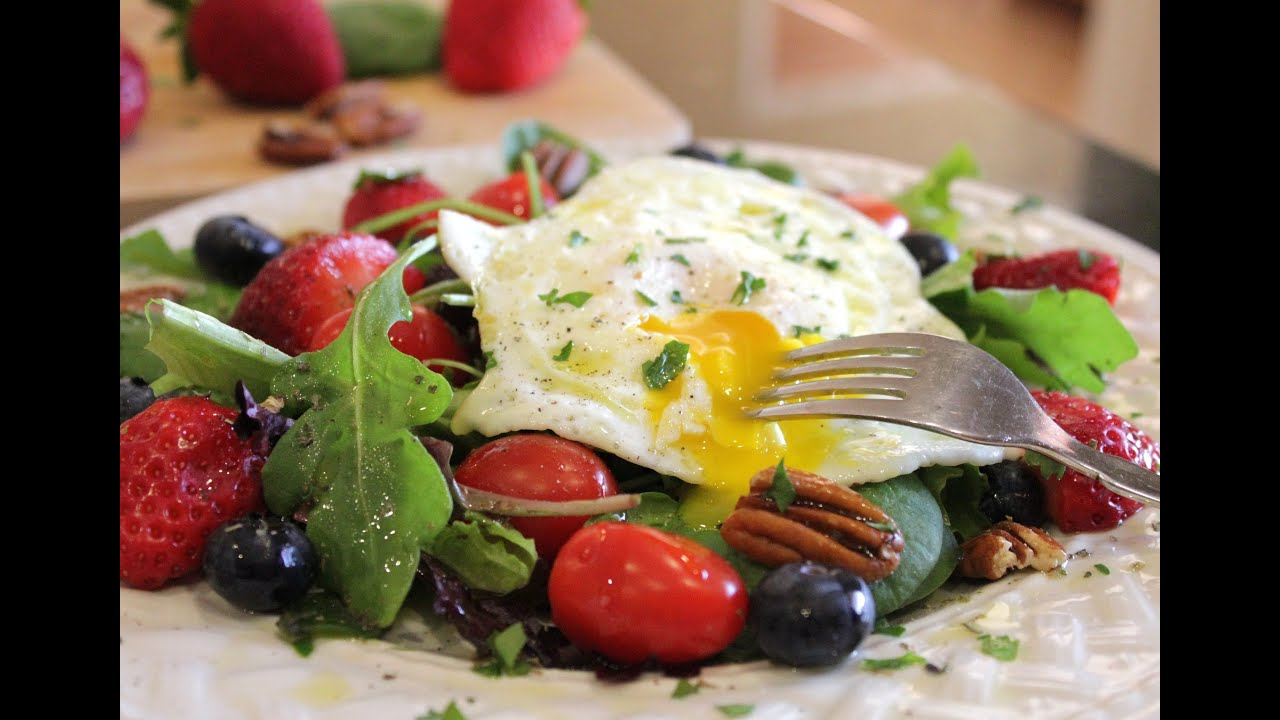 Breakfast Salad For Health And Weight Loss Start Your Bikini Body For Summer Now Youtube