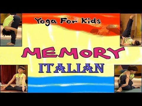 Yoga for kids - Memory - Your Yoga Gym - Italian