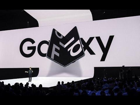 سامسونغ تكشف عن هاتفها الجديد القابل للطي -غالاكسي فولد-  - 07:54-2019 / 2 / 21