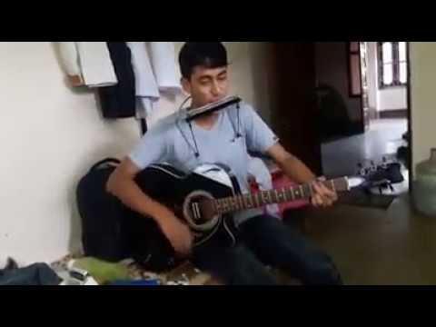 Samjhana Birsana (Guitar and Harmonica) Awesome - YouTube