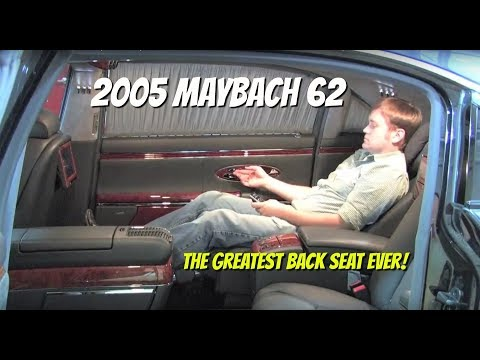Maybach 62 Test Drive And Ride with Chris Moran