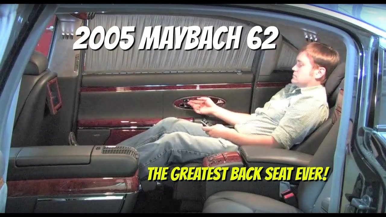 Maybach 62 Test Drive And Ride Sold Video Test
