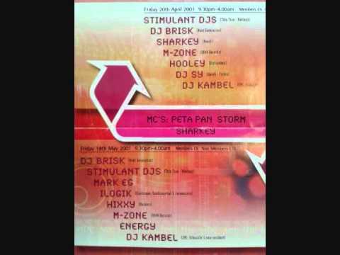 DJ Kambel live @ Vibealite Area 51, 2001