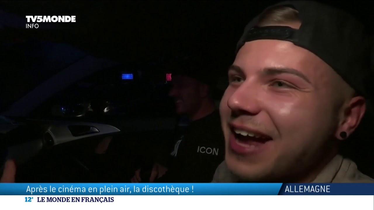 Allemagne : une discothèque drive-in pour clubber en toute sécurité