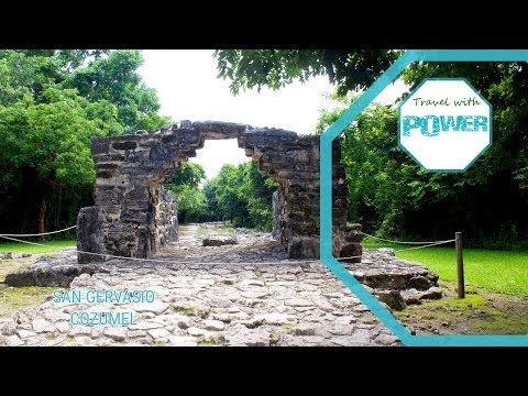 Cozumel Mexico - Ruinas Mayas - San Gervasio
