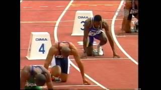 1999 World Championships, 200m Semifinal 1, Seville, Spain