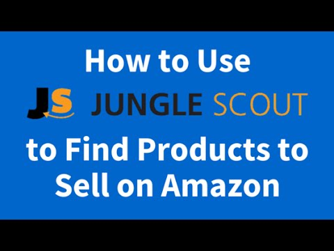 How to Use Jungle Scout to Find Products to Sell on Amazon