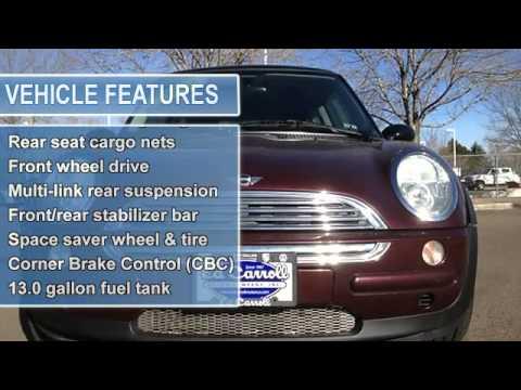 2002 Mini Cooper Hardtop Ed Carroll Motor Company Fort