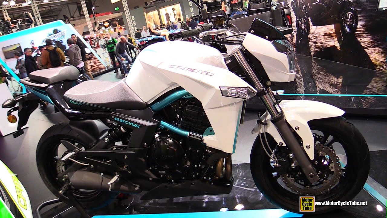 2016 CFMoto NK150 Bike - Walkaround - 2015 EICMA Milan