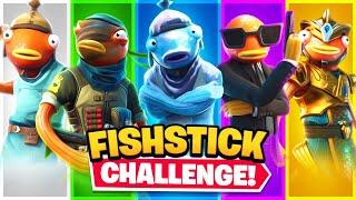 The RANDOM Fishstick Challenge in Fortnite!