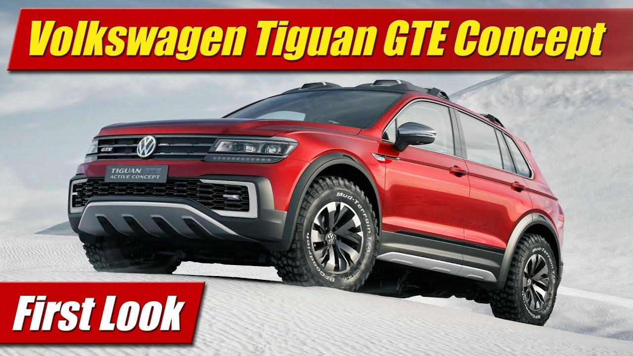 Volkswagen Tiguan Gte Active Concept First Look