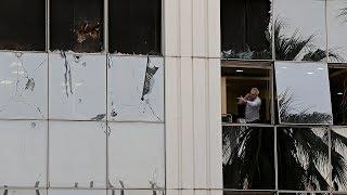«Атака на демократию»: у здания оппозиционного телеканала в Афинах прогремел взрыв