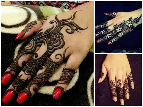 Mehndi Fingers Rating : Latest fingers mehndi designs trend stylish