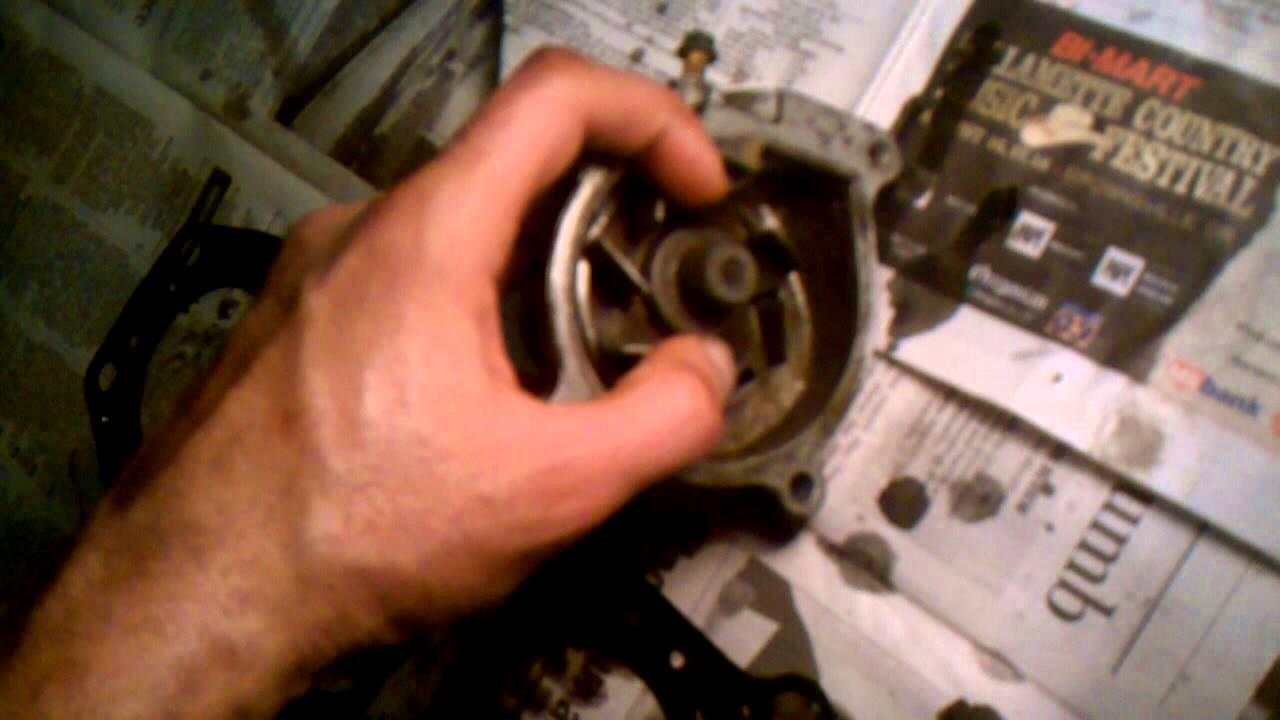 medium resolution of zx6e water pump problem