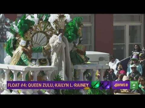 Hail Zulu! Mayor, Council members toast Queen Zulu 2019 in New Orleans on  Mardi Gras Day