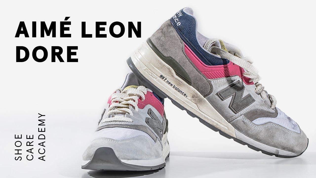 How To Clean New Balance 997 Aimé Leon