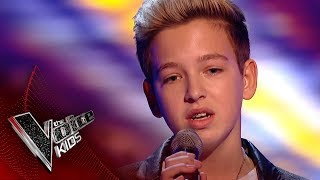 Riccardo performs 'Hallelujah': Blinds 1 | The Voice Kid...