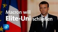 Frankreich: Macron will Elitehochschule ENA schließen