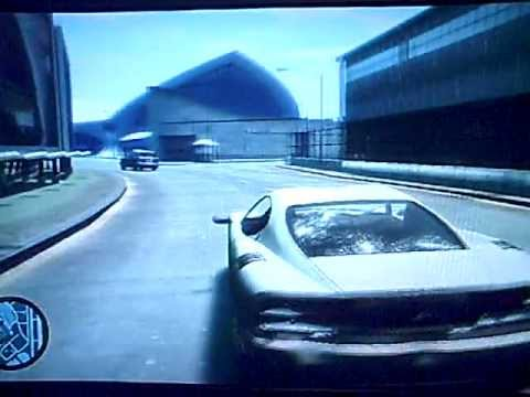 GTA IV - Police Chase To Airport