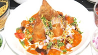 Quick Dinners- Chole Samosa Chaat Video