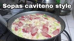 Sopas recipe   caviteño style cooking   masarap para sa malamig na panahon   filipino food