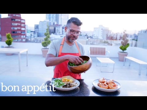 Making Market Quesadillas in Mexico City | City Guides: Mexico City | Bon Appetit
